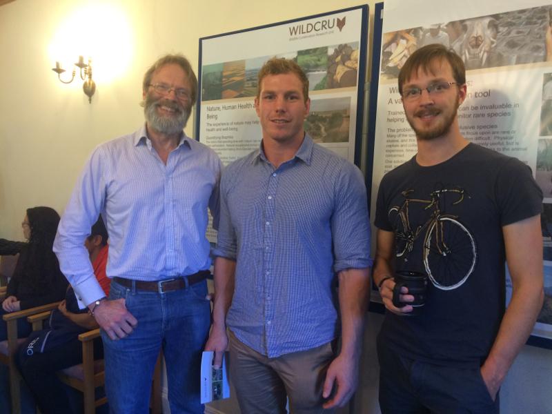 David Macdonald, David Pocock, and Ewan Macdonald