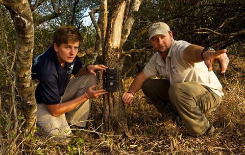 Alex Braczkowski and Tristan Dickerson